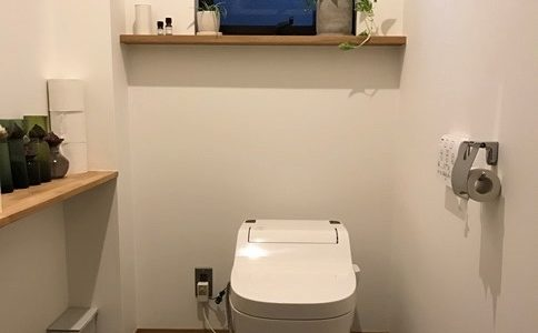 【WEB内覧内装編】1階のトイレを広く贅沢に活用